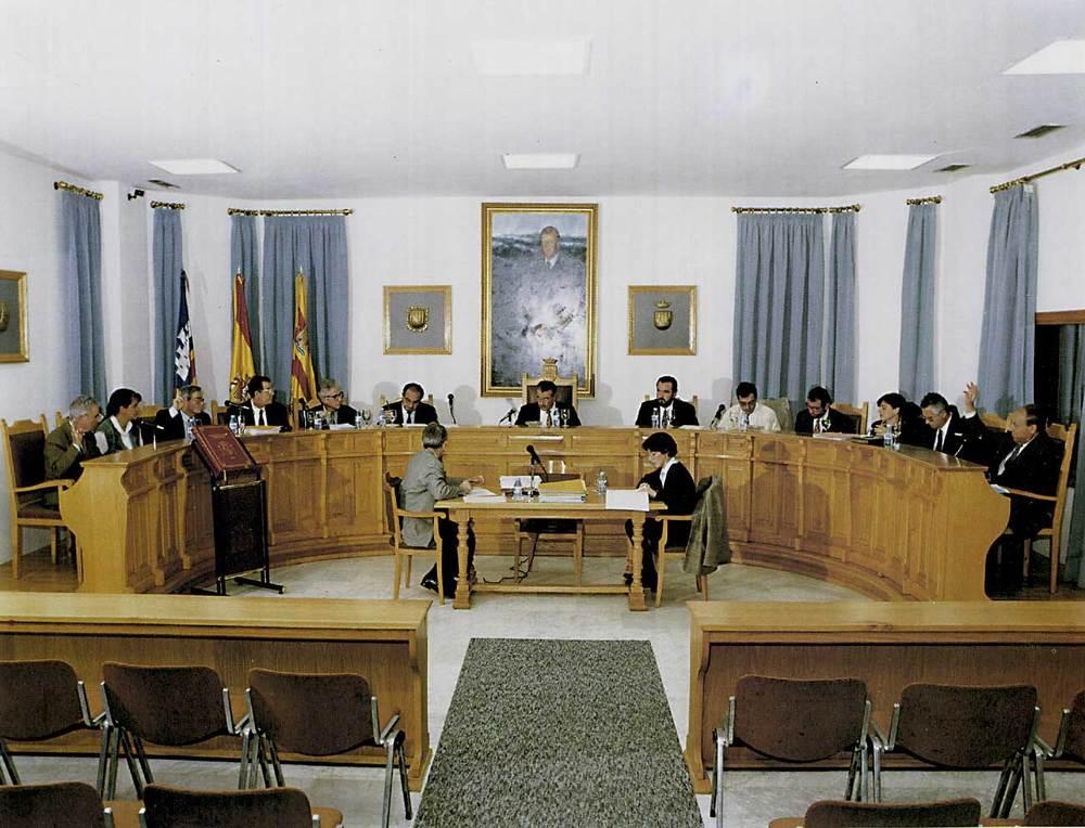 Sessió plenària de la corporació de la segona legislatura del Consell Insular d´Eivissa i Formentera. Foto: Rafa Domínguez.