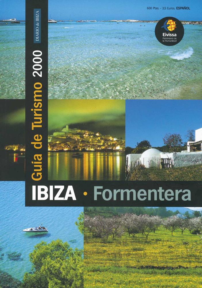 <em>Guía de Turismo 2000</em>, publicada per <em>Diario de Ibiza</em>.