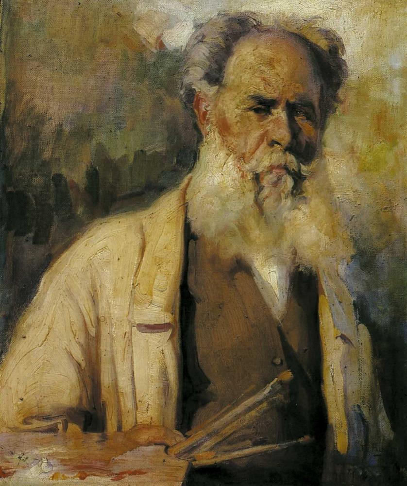 Art. Autoretrat de Narcís Puget Viñas, oli sobre tela, 1933. Foto: Toni Pomar / extret de <em>Narcís Puget, 1874-1960</em>. Sa Nostra.