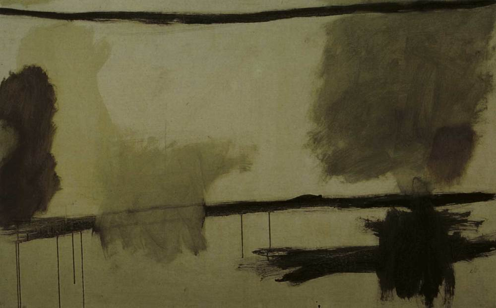 Art. Oli damunt tela d´Erwin Broner. Foto: Toni Pomar / col·lecció Gisela Broner.