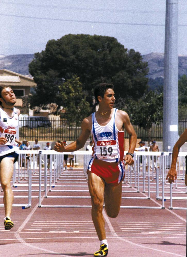 Esports. Felipe Vivancos, velocista d´obstacles. Foto: Roberto López.