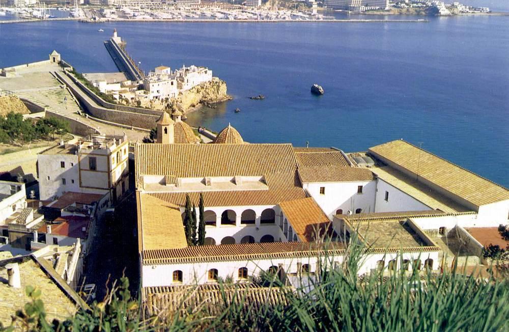 Corona d´Aragó. El convent dels dominics. Algun dels seus membres tenia una relació molt directa amb el comerç de la sal a final del s. XVII i principi del XVIII. Foto: Neus Garcia Ferrer.