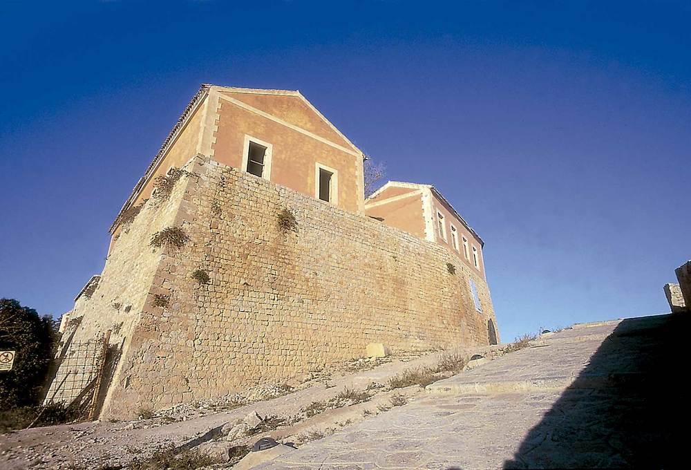 Corona d´Aragó. Cavaller de l´Almudaina, al Castell d´Eivissa. Després de la guerra de Successió es reforçà la dotació militar a l´illa d´Eivissa. Foto: Vicent Marí.