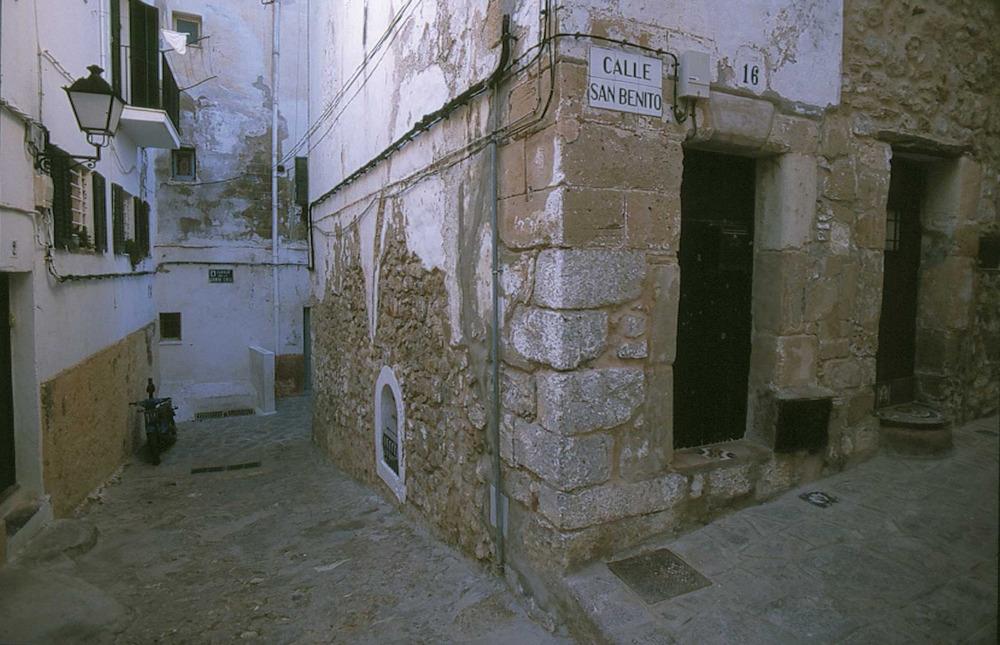 Corona d´Aragó. El pla de reforma dels il·lustrats incloïa la millora dels carrers de la ciutat. Foto: Vicent Marí.