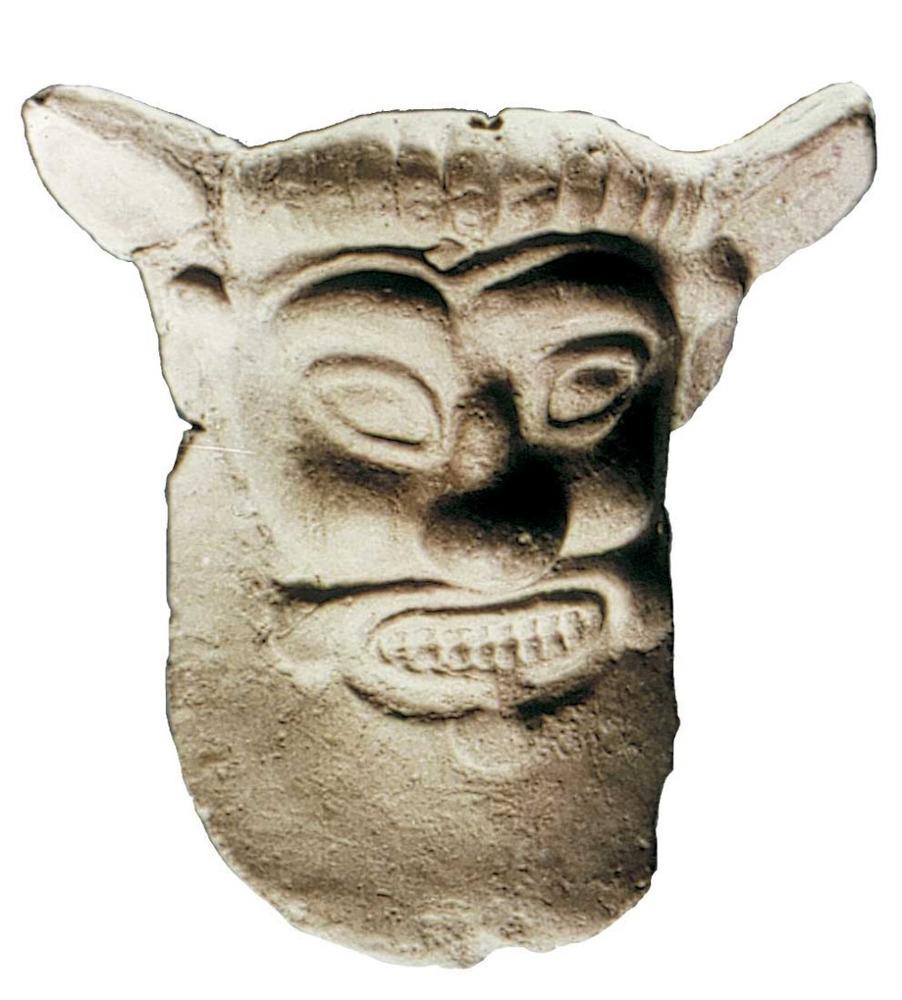 Època feniciopúnica. Representació punicoebusitana de Silè que copia un model grec; pertany al s. IV aC. Foto: cortesia del Museu Arqueològic d´Eivissa i Formentera.