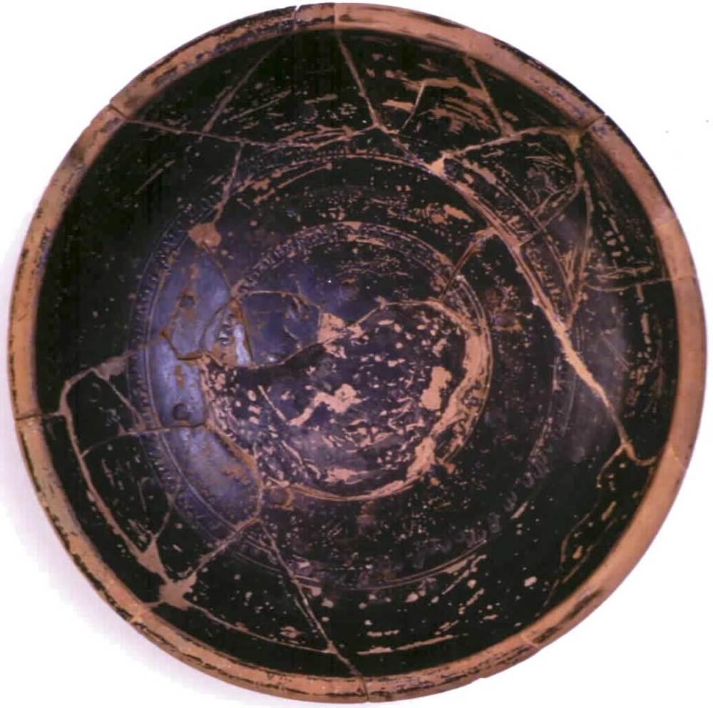 Època feniciopúnica. Bol de vernís negre de la ceràmica anomenada campaniana, produïda a Itàlia. S. II aC. Foto: cortesia del Museu Arqueològic d´Eivissa i Formentera.