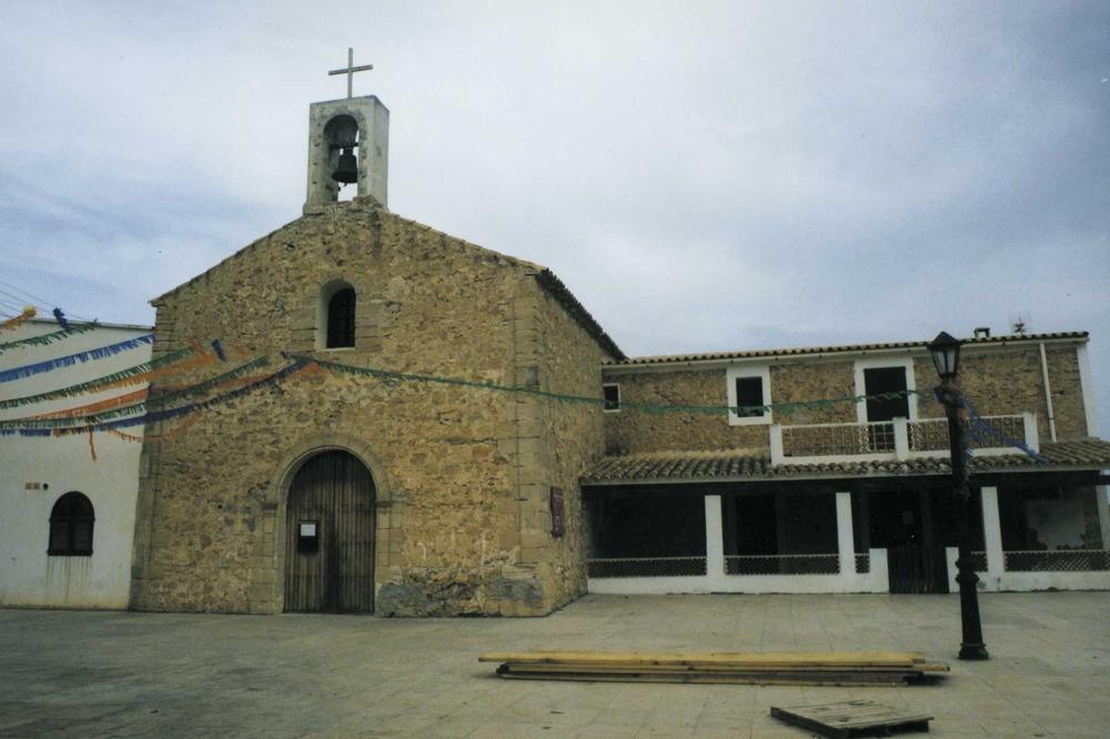 """L´església de Sant Ferran, a Formentera. Foto: Vicent Ribas """"Trull""""."""