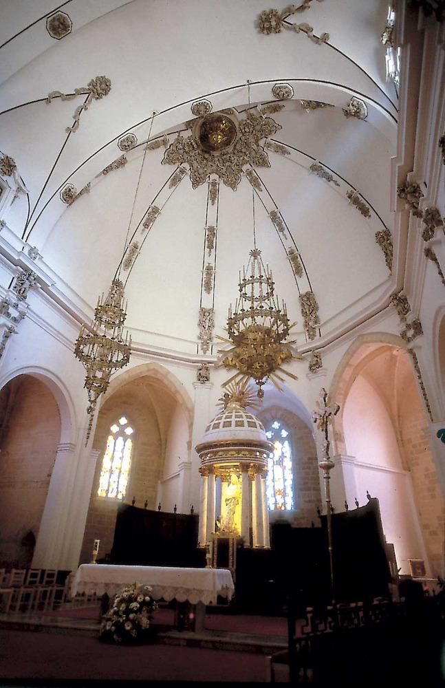 L´església parroquial de Santa Maria, ara catedral. Foto: Vicent Marí.