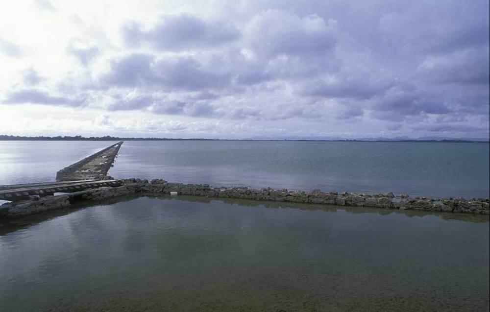 Formentera. Època baixmedieval. El 1453 Alfons el Magnànim concedia part de Formentera a Joan Martí, però es reservava el dret d´embarcar i vendre la sal. Foto: David García Jiménez.