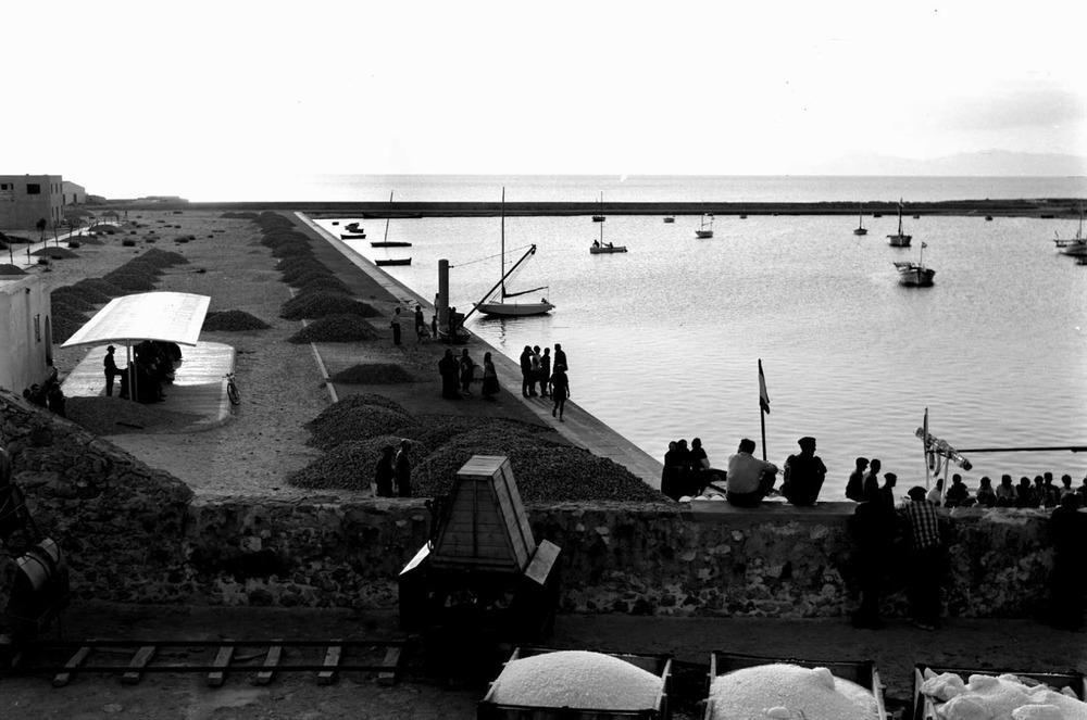Formentera. Època contemporània. El port de la Savina. Foto: Josep Juan Juan.