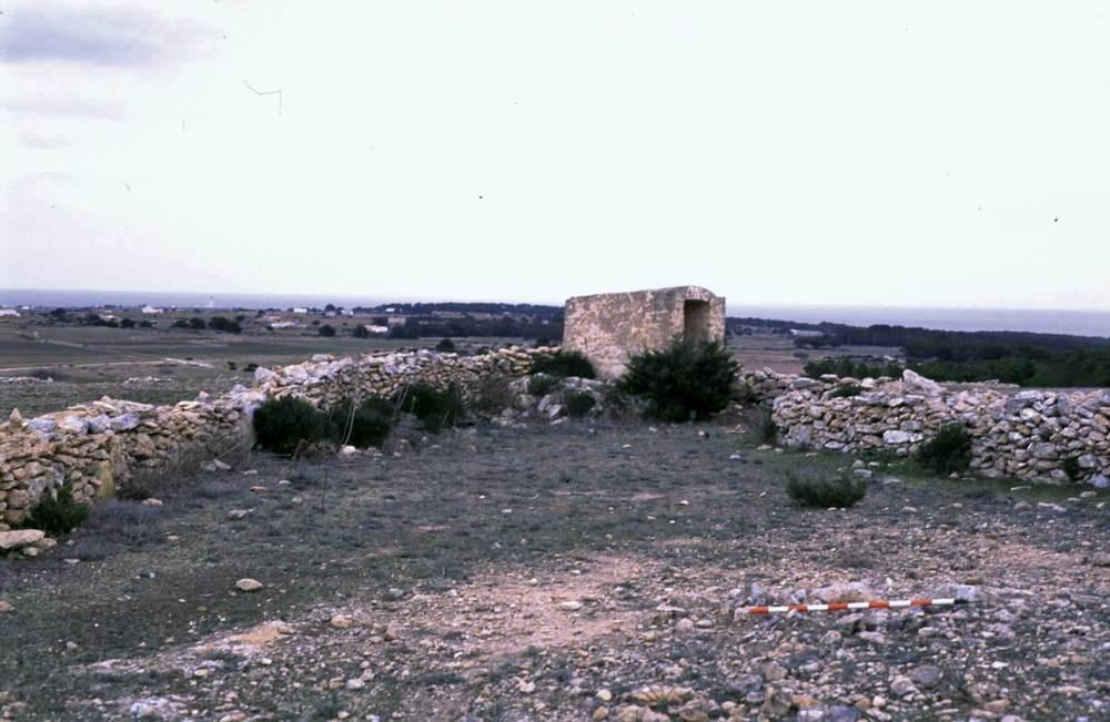Formentera. Època medieval andalusina. L´aljub d´en Tonet. Foto: MAEF.