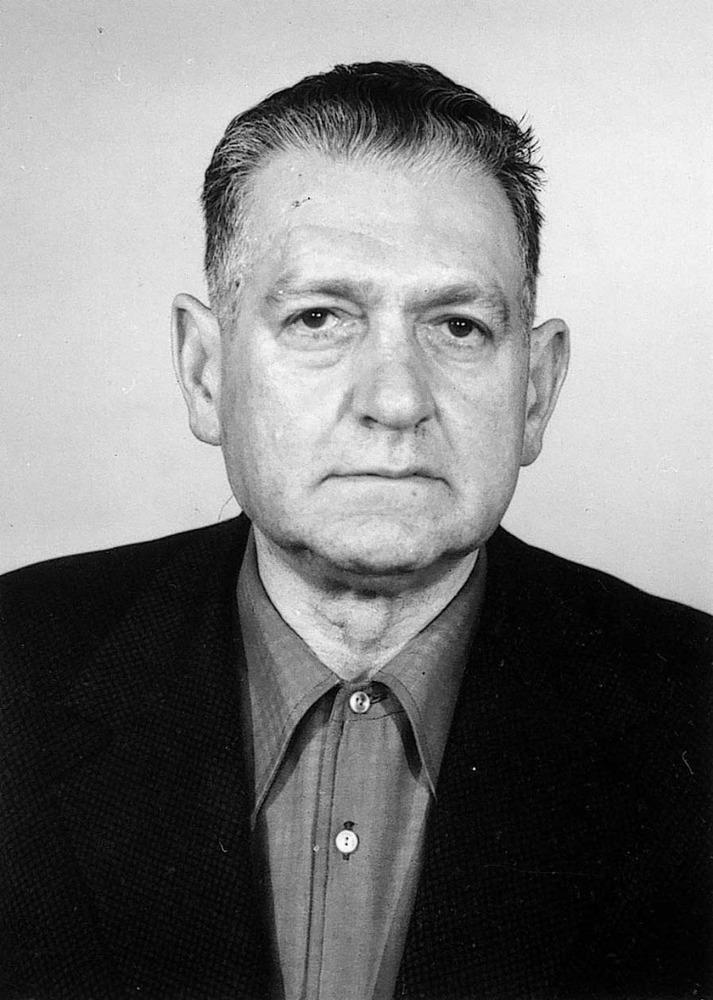 Llorenç Cobos Lluy, de les companyies de treballadors estrangers i deportat al camp nazi d´Aurigny durant la Segona Guerra Mundial.