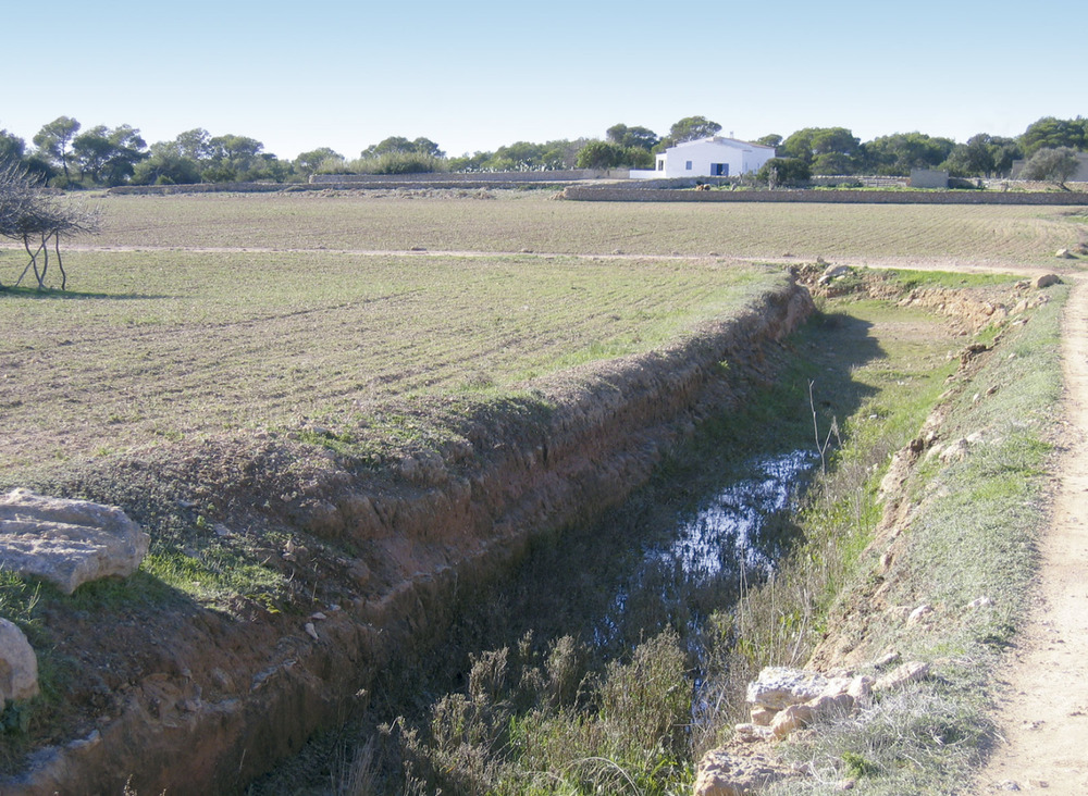 El canal d´en Rita, a la vénda de sa Talaiassa. Foto: Vicent Ferrer Mayans.