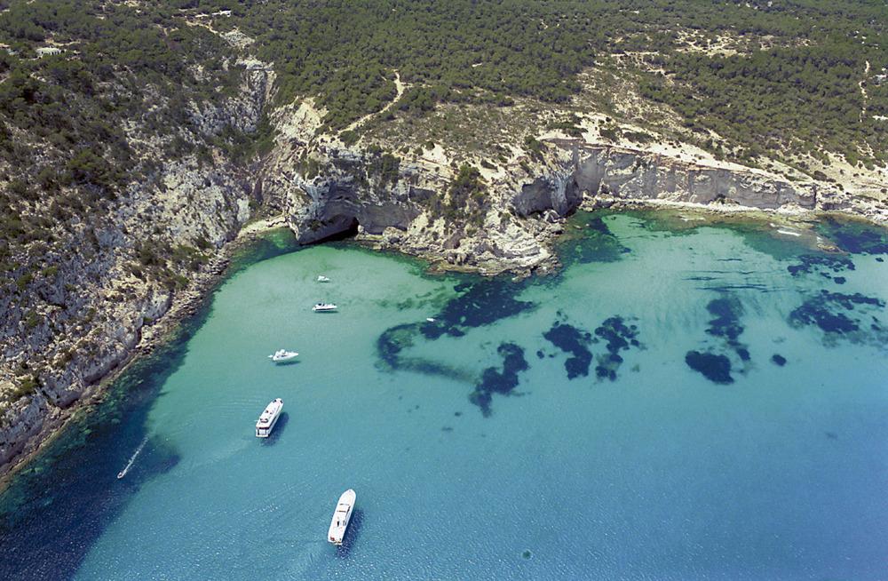 Una imatge de la Mola: el racó de sa Pujada. Foto Pins.