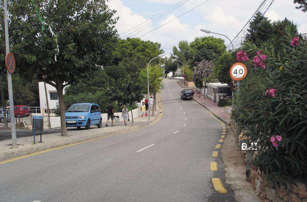 Una imatge del nucli urbà de Portinatx. Foto: EEiF.