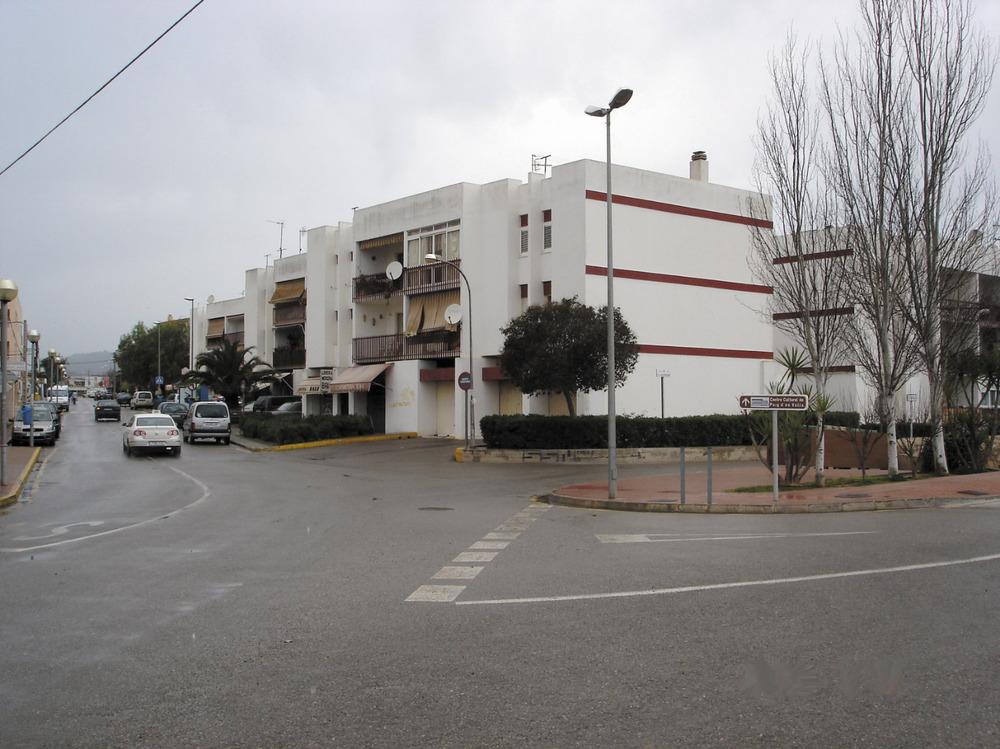 """Es Puig d´en Valls. Primera fase de la urbanització """"Ciutat Jardí"""", amb el carrer de Vicent Marí Mayans a l´esquerra. Foto: Felip Cirer Costa."""