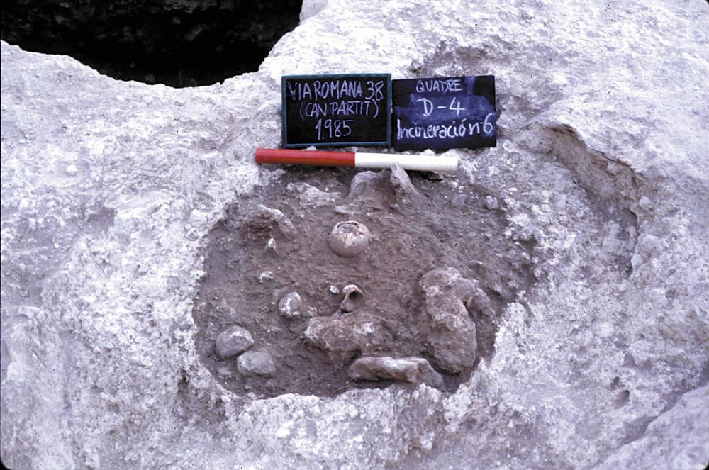 Necròpolis del Puig des Molins. Un altre enterrament fenici al solar de can Partit. Foto: Museu Arqueològic d´Eivissa.
