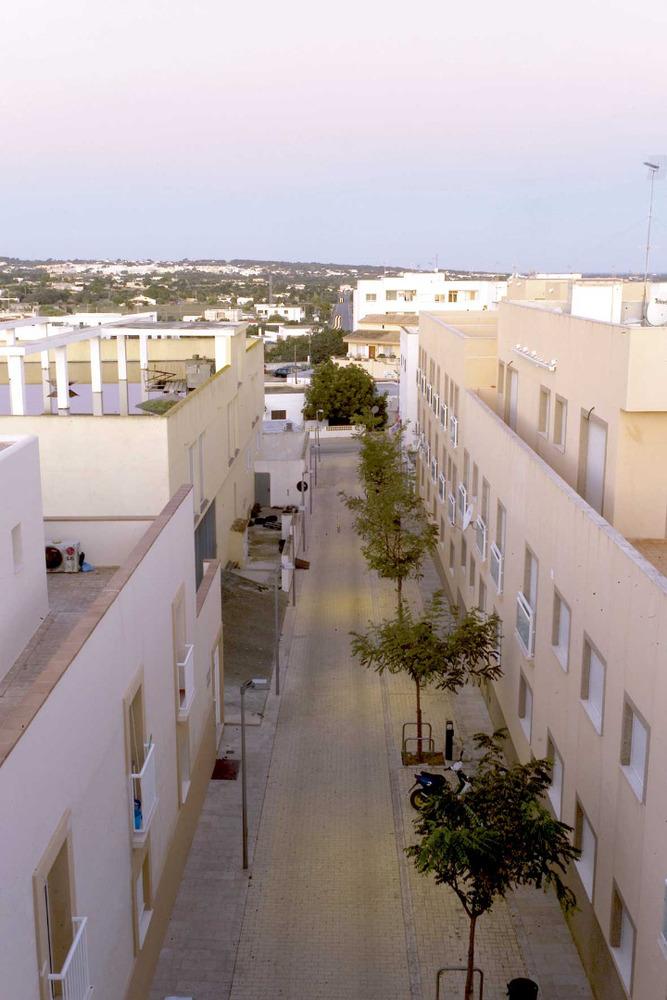 Carrer de Menorca, a Sant Ferran de ses Roques. Foto: Joan A. Parés.