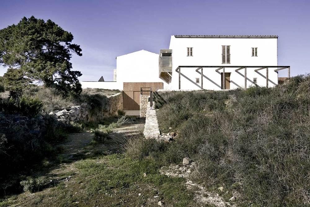Sant Francesc Xavier. Can Marroig, adquirida el 1874 per Antoni Marroig Boned, va ser la finca d´explotació agrícola més important de Formentera. Foto: MaCM.
