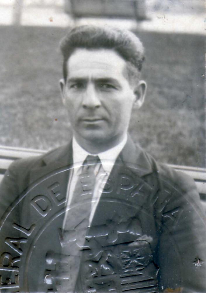 """Josep Torres Costa """"Pep Simon"""", un dels cantadors més destacats del poble de Sant Francesc Xavier."""
