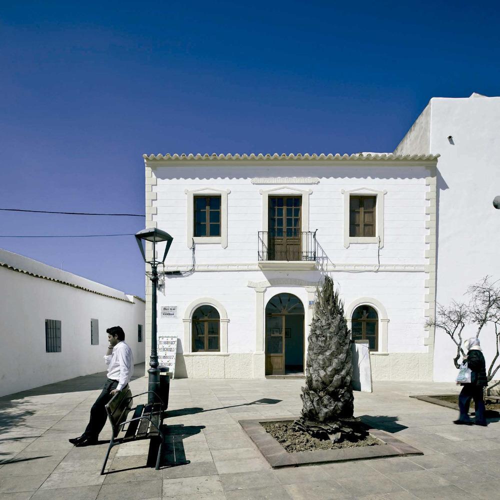Sant Francesc Xavier. Edifici de l´Ajuntament Vell. Foto: MaCM.