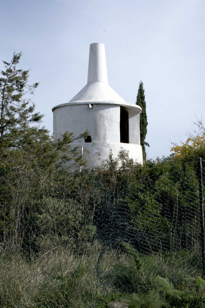 Municipi de Sant Joan de Labritja. Forn per a l´elaboració de calç, a la vénda de Safragell, de Sant Llorenç de Balàfia. Foto: EEiF.