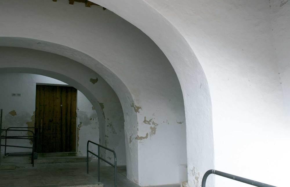 Sant Josep de sa Talaia. Els porxos de cas Mossènyer. Foto: EEiF.