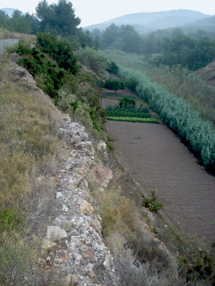 Sant Josep de sa Talaia. Horts vora el torrent de sa Font des Verger. Foto: EEiF.