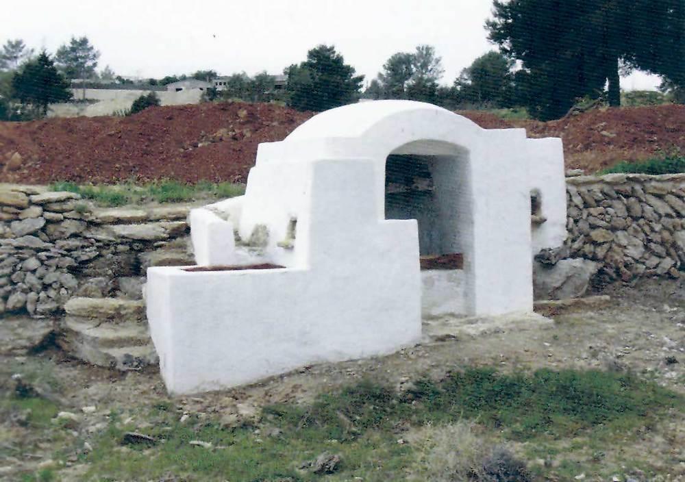 Sant Rafel de sa Creu. El pou de Cas Ferrer, a la vénda de sa Creu, restaurat el 2002. Foto: Joan Josep Serra Rodríguez.