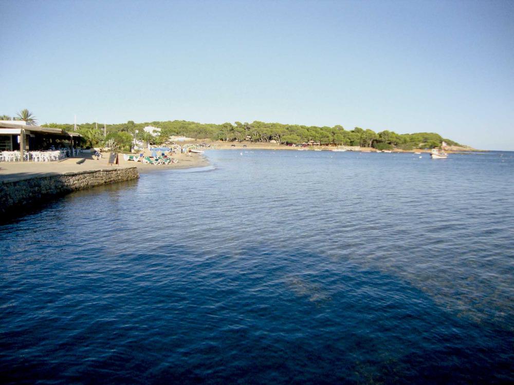 Municipi de Santa Eulària des Riu. La platja i la punta de Cala Martina. Foto: EEiF.