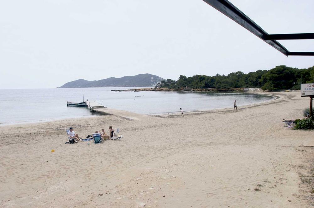 Municipi de Santa Eulària des Riu. La platja de Cala Pada. Foto: EEiF.