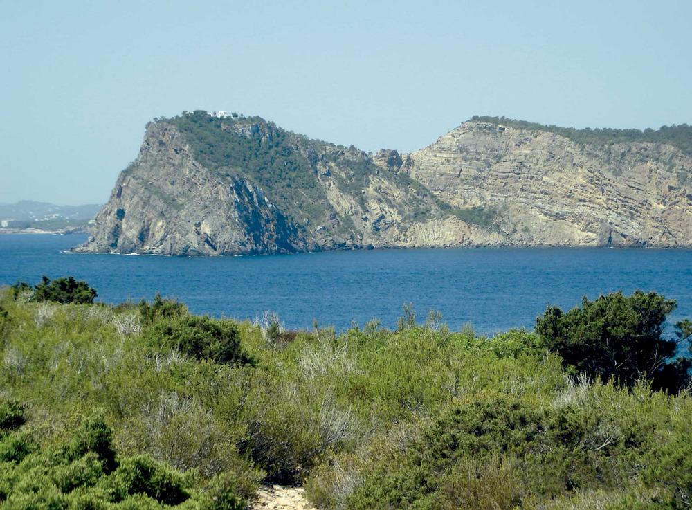Municipi de Santa Eulària des Riu. El cap Roig, a la costa de Sant Carles de Peralta. Foto: EEiF.