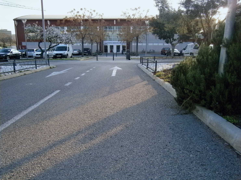 El Poliesportiu Municipal des Viver. Foto: Felip Cirer Costa.