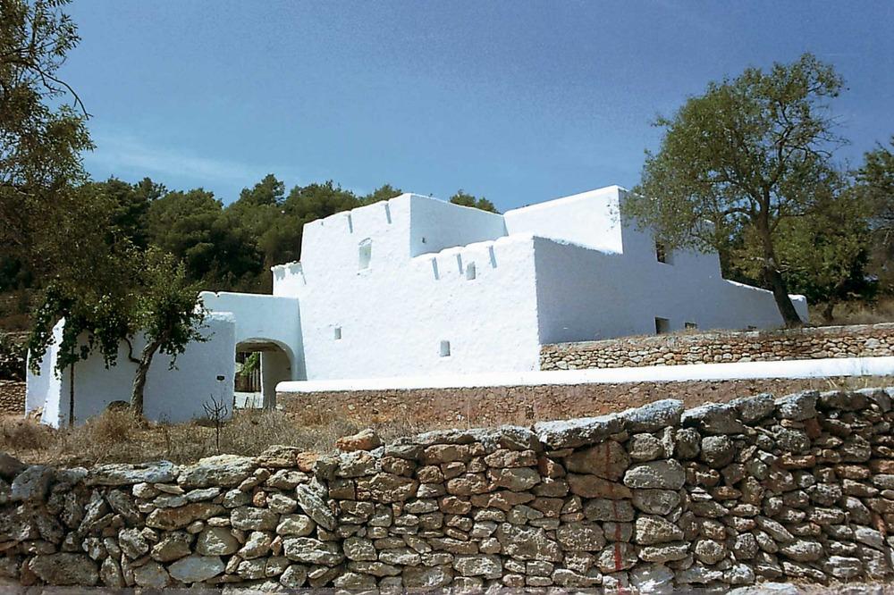 Agricultura. La casa pagesa com a símbol de l´economia agrícola de subsistència. Camí de Perella. Foto: Gerard Móra Ferragut.