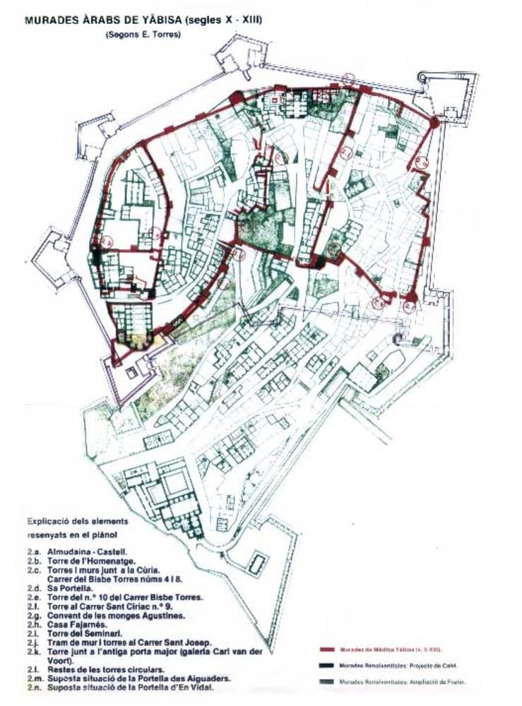 Arqueologia. Cartell anunciador de les exposicions arqueològiques organitzades a Eivissa el 1985.