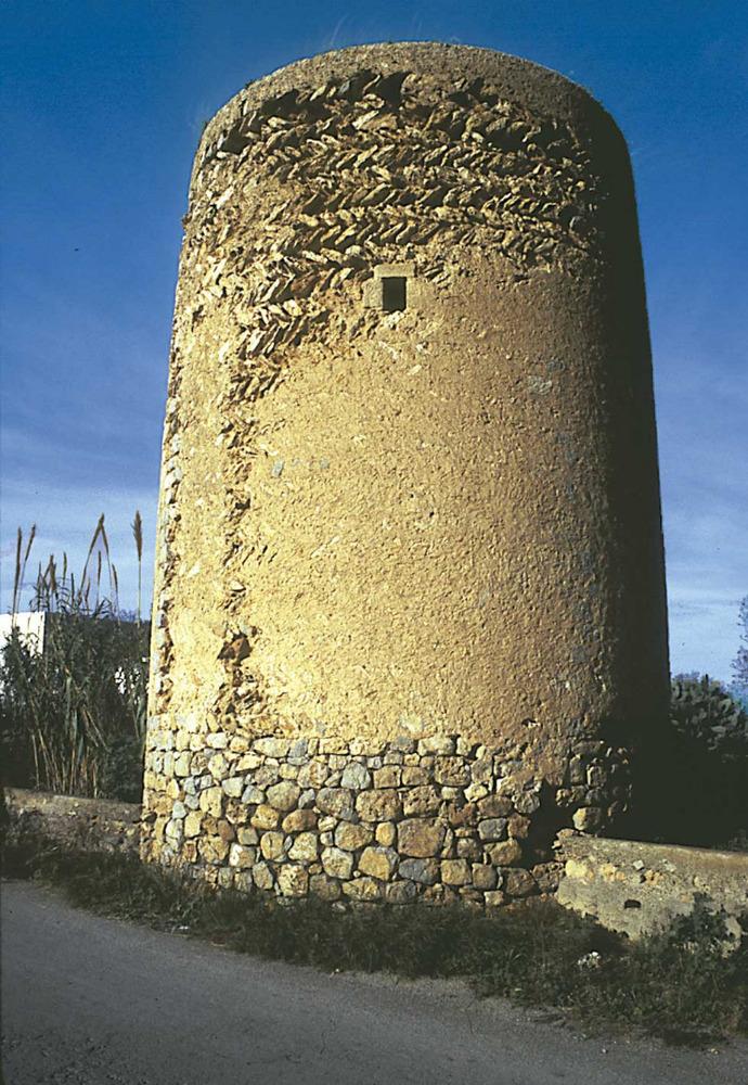 Arquitectura. Torre de sa Blanca Dona. Foto: Rosa Gurrea Barricarte.