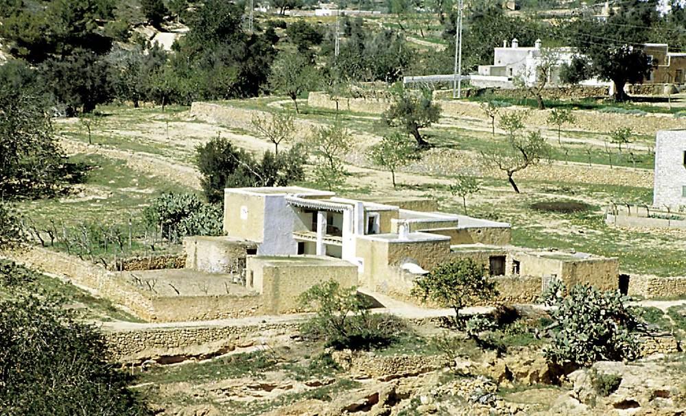 Arquitectura. Ca na Rosa. Vénda de Cas Marins (Sant Josep de sa Talaia). Foto: Ferran Marí Serra / Salvador Roig Planells.