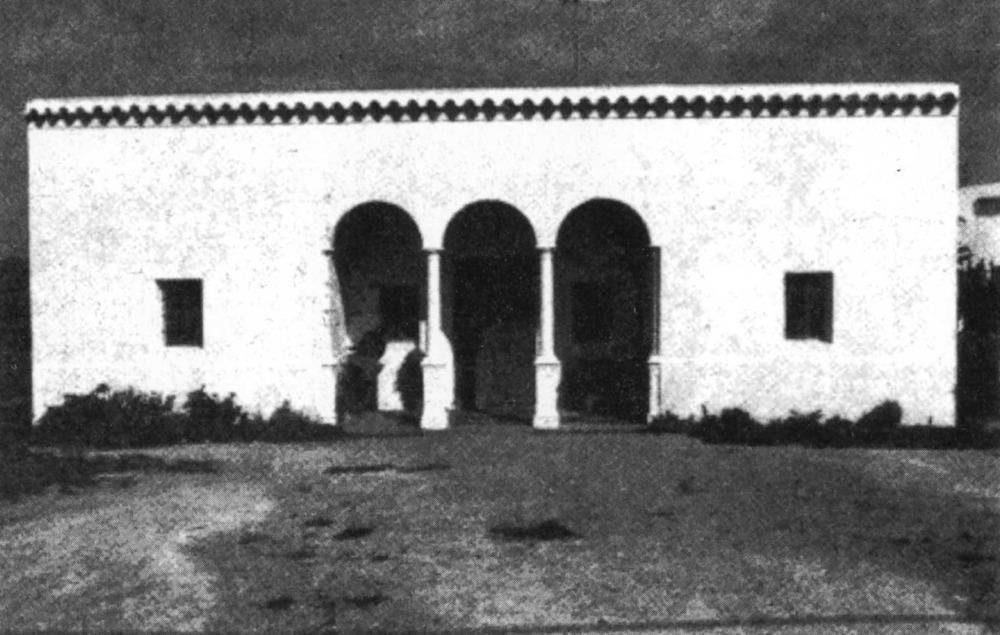 Arquitectura. Es Campet. Mostra de la incorporació d´elements ornamentals d´estil colonial als habitatges rurals. Foto: Elies Torres.