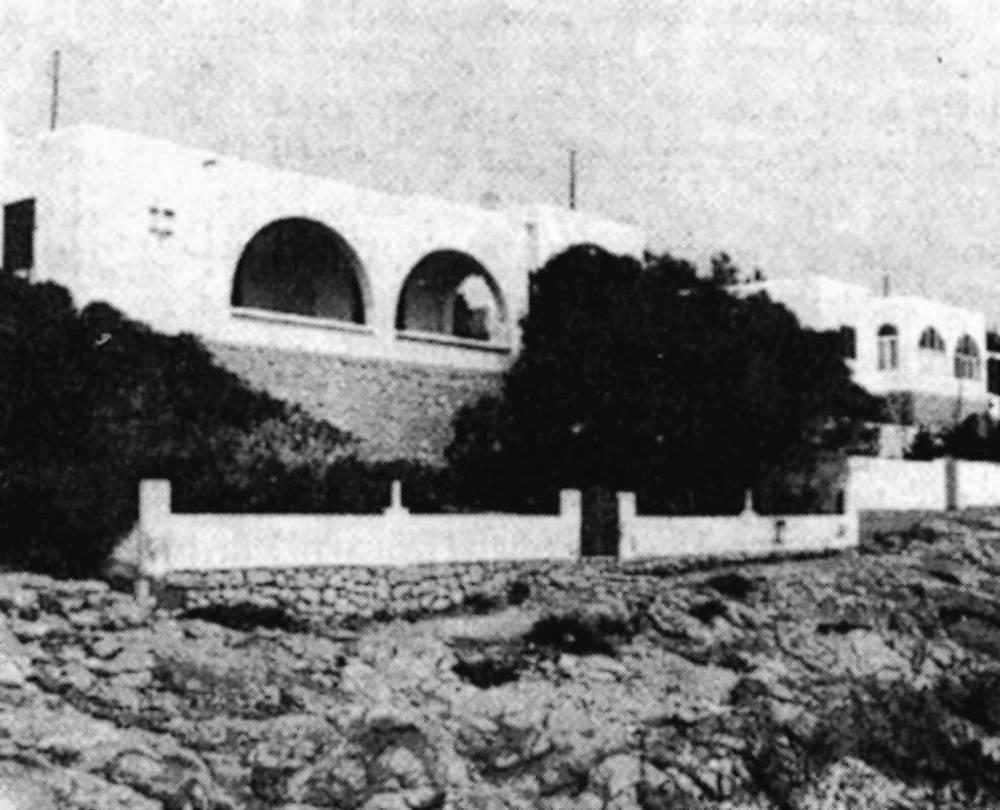 Arquitectura. Construcci&oacute; regionalista d´inspiraci&oacute; populista. Extret de <em>Gu&iacute;a de arquitectura de Ibiza y Formentera</em>.