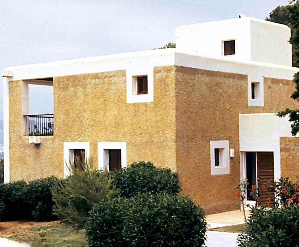 Arquitectura. Casa de J. L. Sert (1968) a la urbanització de Can Pep Simó. Foto: Ferran Marí Serra / Salvador Roig Planells.