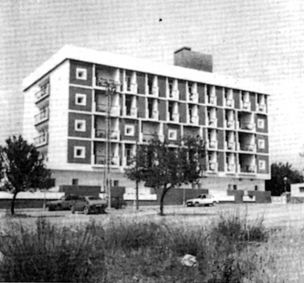Arquitectura. La Resid&egrave;ncia Reina Sofia (1975), de Raimon Torres. Extret d´<em>Arquitecturas en Ibiza</em>.