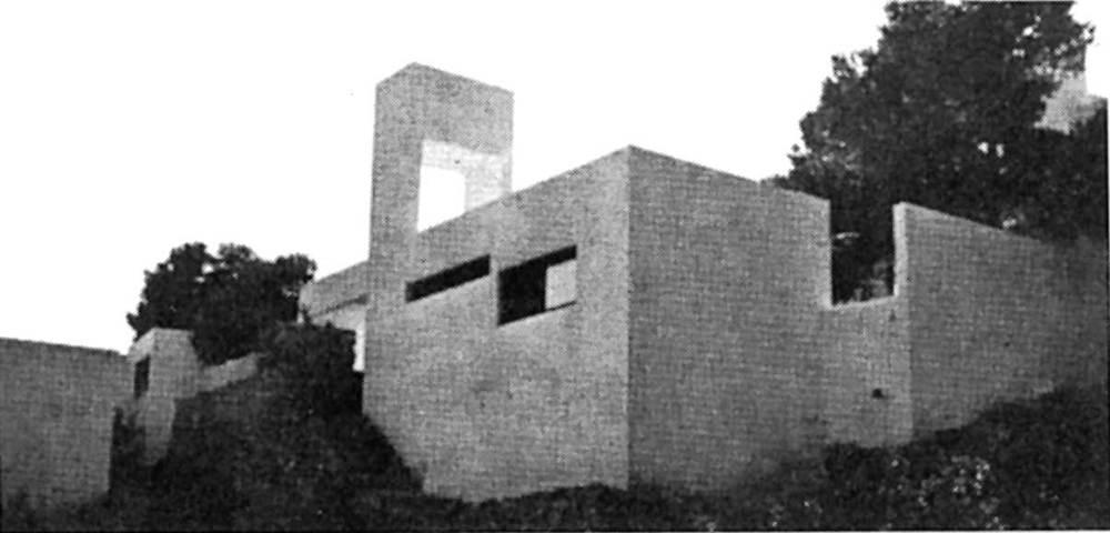 Arquitectura. Casa Le Carrieux (1972), de Constantin Wallace. Foto: Elies Torres.