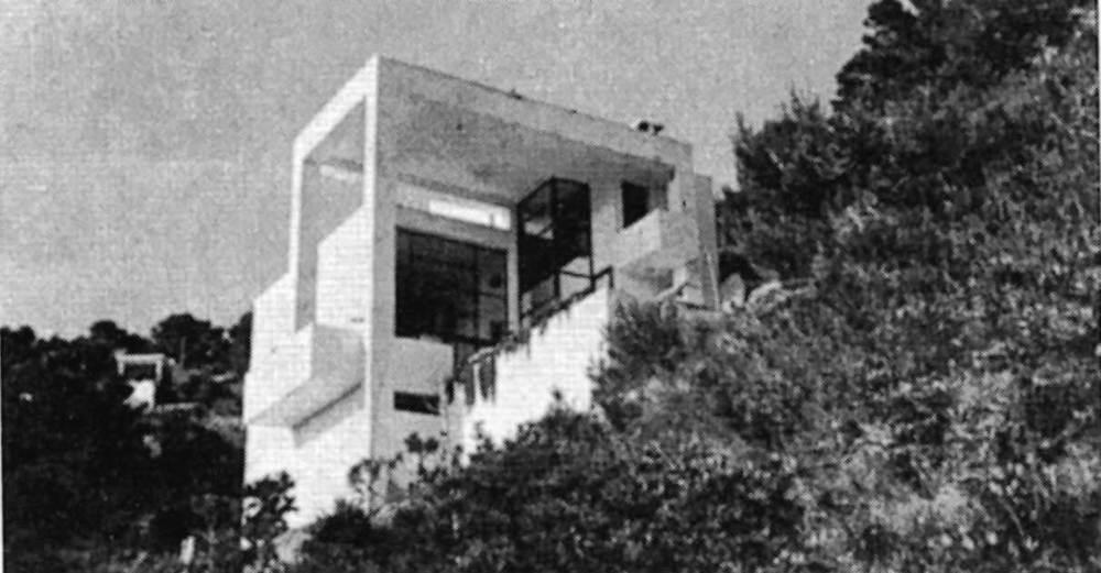 Arquitectura. Casa Lloll (1972), de Constantin Wallace. Foto: Elies Torres.