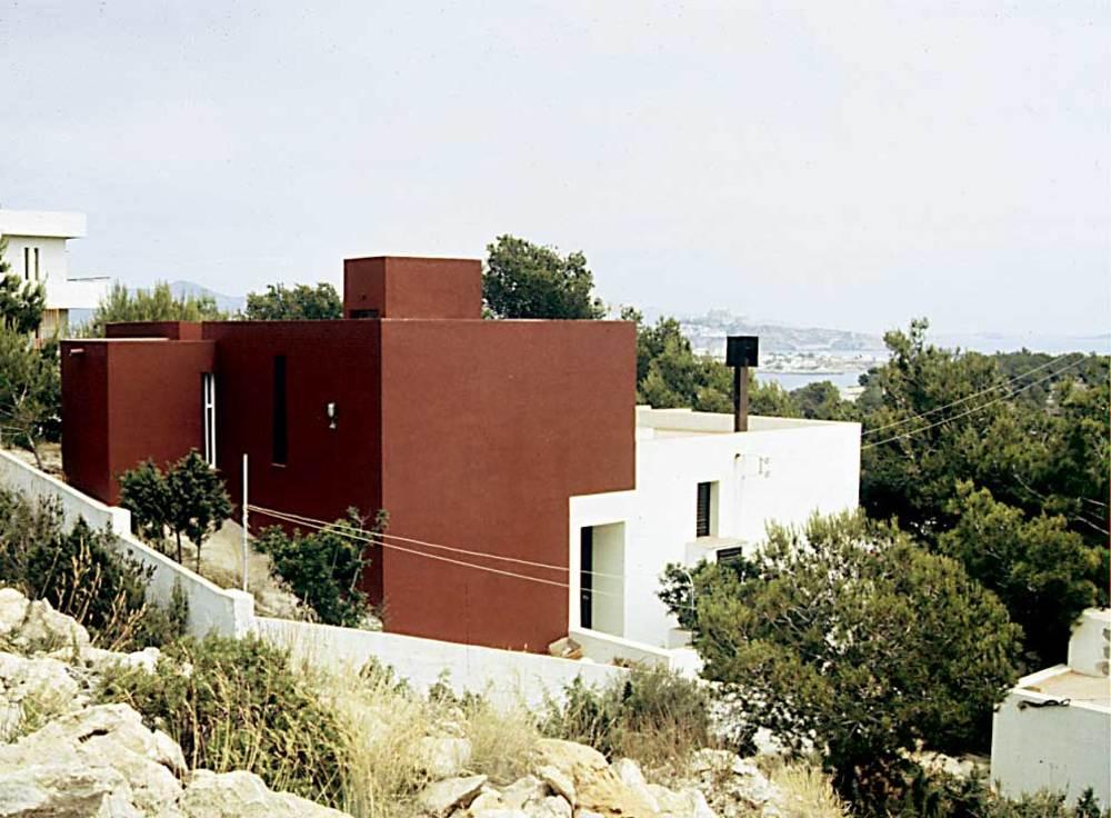 Arquitectura. Casa Tia Regina (1972), d´Elies Torres i J. A. Martínez Lapeña. Foto: Ferran Marí Serra / Salvador Roig Planells.