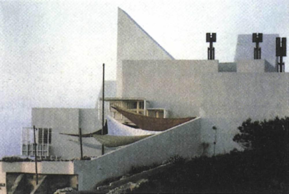 Arquitectura. Casa Van den Driesche (1973), obra d´Elies Torres i J. A. Mart&iacute;nez Lape&ntilde;a. Foto: <em>El Croquis 61</em>.