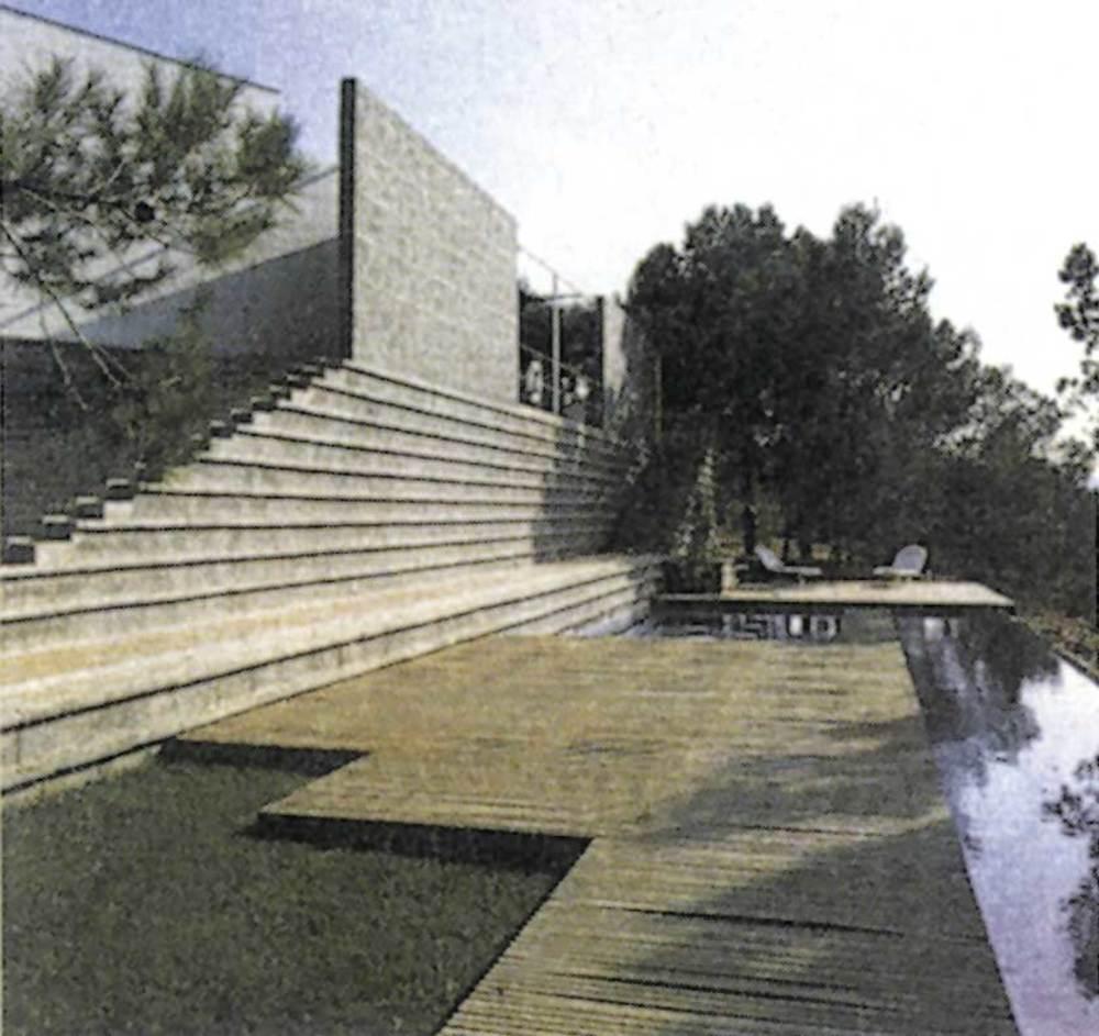 Arquitectura. La casa Boenders. Foto: <em>El Croquis 61</em>.