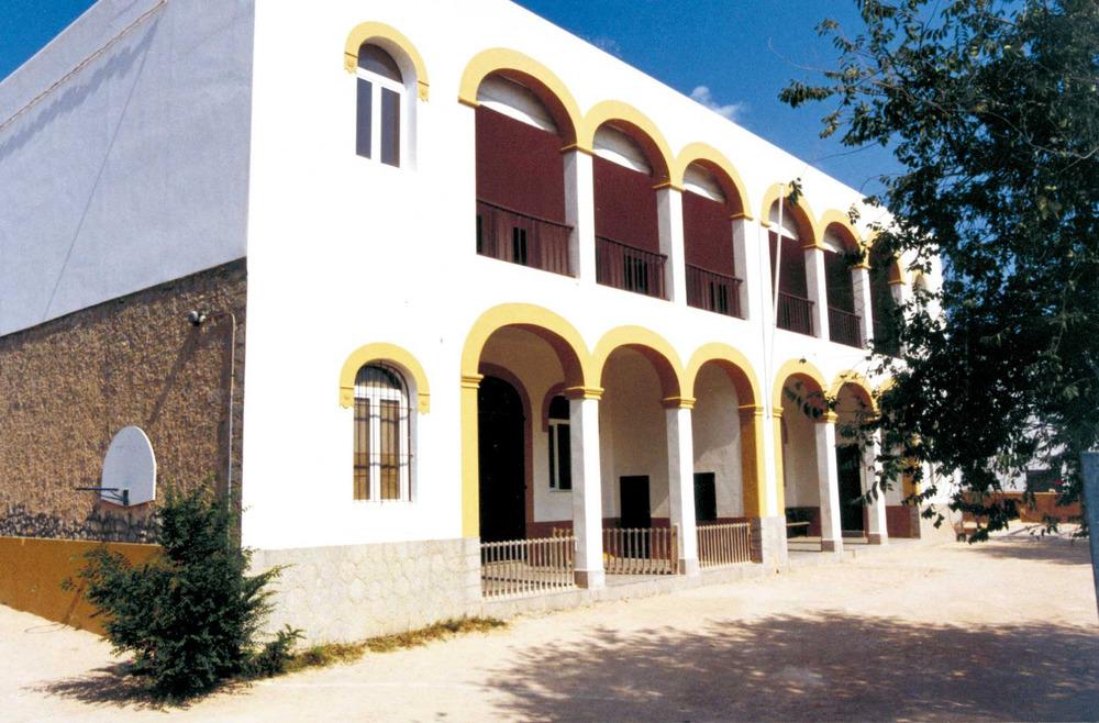 Les escoles de Sant Josep foren inaugurades oficialment pel rei Alfons XIII durant la seua visita, el 1929. Foto: Neus Garcia Ferrer.