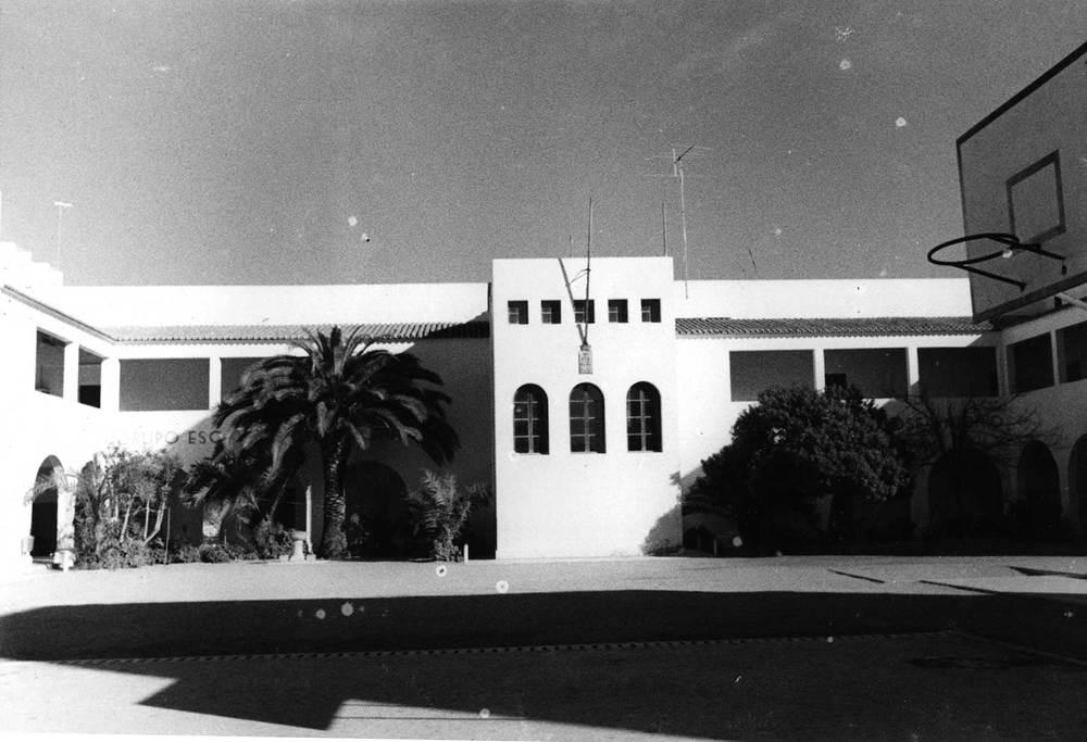 El novembre de 1931 s´aprovà la construcció de l´escola Graduada d´Eivissa, amb sis seccions per a nens. Foto: cortesia de l´escola sa Graduada.