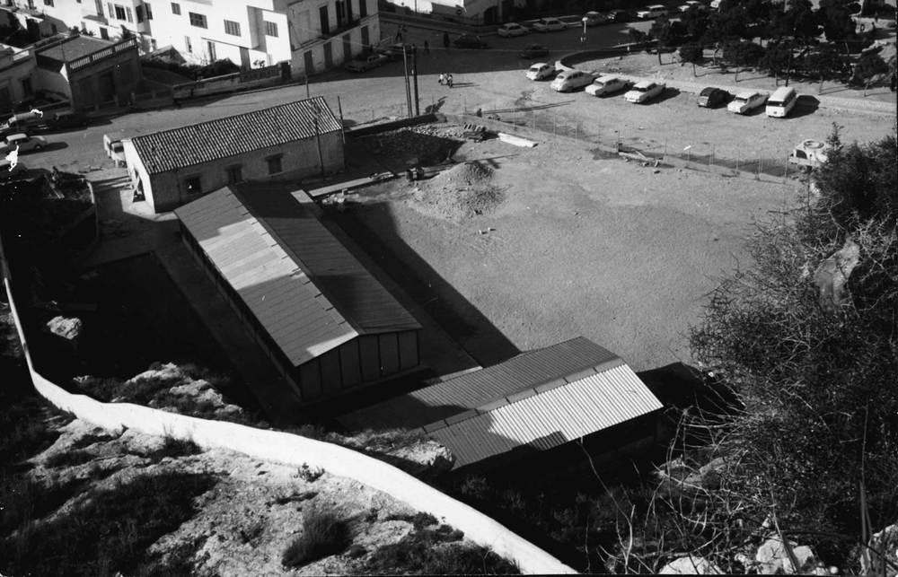 Les primeres escoles del Portal Nou. Foto: Josep Buil Mayral.