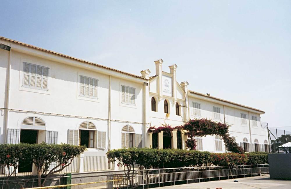 El col·legi Joan XXIII, que s´inaugurà el 1969 a un edifici cedit al Bisbat per la família Wallis. Foto: Neus Garcia Ferrer.